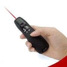 d78ede93564 Laser Pointer Pen Laser Teaching PPT Presenter Black 2.4Ghz for Logitech  Wireless Presenter R400 with