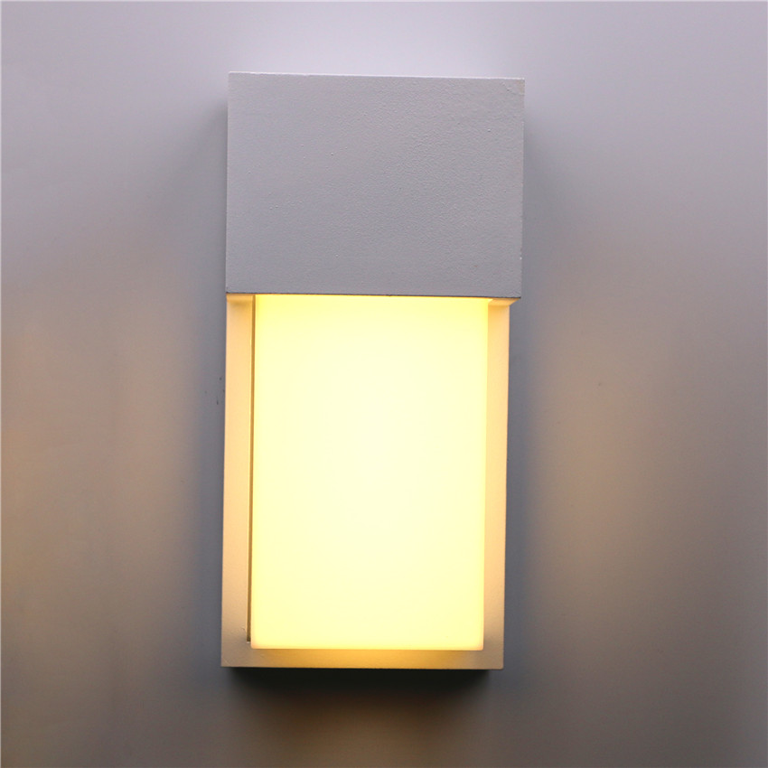 10W LED Wall Lights Outdoor Waterproof Wall Lamp Aluminium Modern Garden Serve Lights Depan Pintu Wall Lamp Bilik Wall Lights BL24