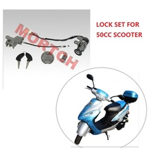 (High Quality ) Scooter Ignition Lock sets for GY6 139QMB 50CC Chinese scooter TAOTAO Sunny GTS Speedy Solana, (FREE SHIPPING)