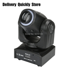 New Arrival mini dj Led 30W gobo Moving Head with light strip good Use for Home entertainment party KTV Night Club Dance