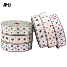 AHB 2Yards 35mm Vintage Embroidery Ribbons Star Pattern Fashionable Tape For DIY Sewing Festival Handmade Decoration Material