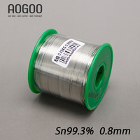 0 8mm Health Lead Free Soldering Tin Wire Tin 99 3 450g