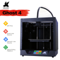 2019 Nieuwste Ontwerp Flyingbear-Ghost4 3D Printer volledige metalen frame Hoge Precisie 3d printer Diy kit glas platform Wifi