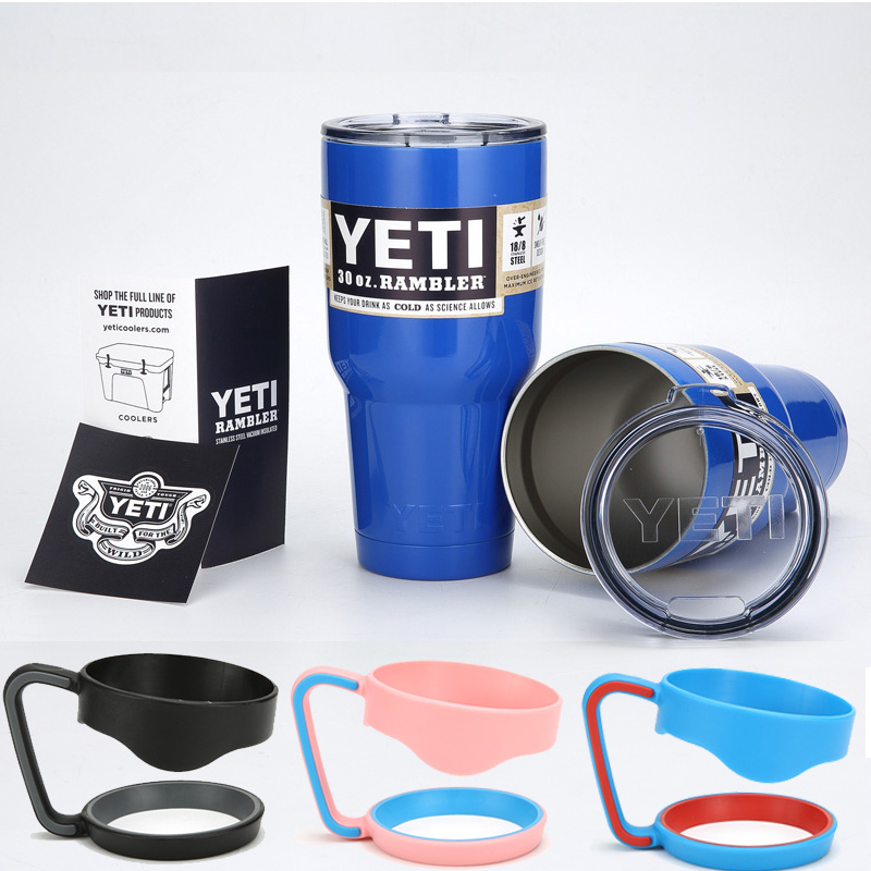 900ml Stainless Steel <font><b>30</b></font> <font><b>oz</b></font> <font><b>Yeti</b></font> <font><b>Cups</b></font> Cooler <font><b>YETI</b></font> <font><b>Rambler</b></font> <font><b>Tumbler</b></font> <font><b>Cup</b></font> <font><b>Vehicle</b></font> <font><b>Beer</b></font> Mug Double Wall Bilayer With Lids And Handle