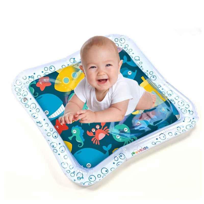 Star รอบรูปร่างน้ำเล่นเสื่อเวลา Tummy ศูนย์กิจกรรมสำหรับเด็กทารกเด็กวัยหัดเดินเด็ก Inflatable Water Cushion Pad