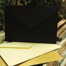 10 шт./лот 114 мм X 162 мм C6 переработанные конверты, открытки, конверты, открытки, цветные поздравительные открытки, классические, 3 цвета