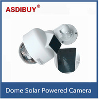 CCTV Dome Fake Surveillance Flashing LED Camera Security Dummy False Solar Powered Camera