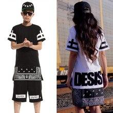 2016 Summer Style Men Women T Shirts DGK Tshirt 2016 Bandana T-Shirt Skateboard Pyrex Extended Hip Hop Zipper Hba Swag Tops Tees