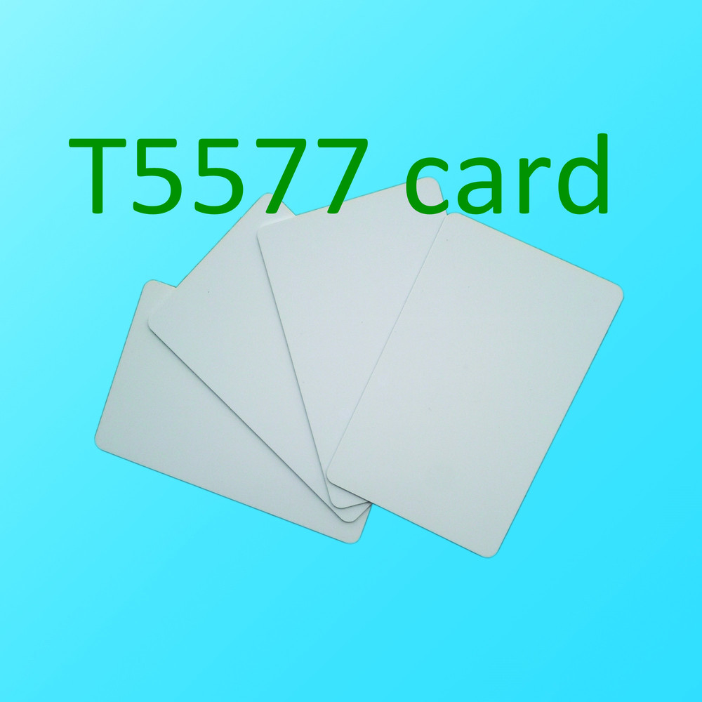 Free Shipping RFID 125KHz Writable Rewrite T5577 Card Proximity Access Card-20pcs
