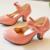 Niños Princesa con Bowtie diseño Único de moda de Verano de Alta calidad tacones Altos zapatos de las muchachas de 3-7 síes de edad