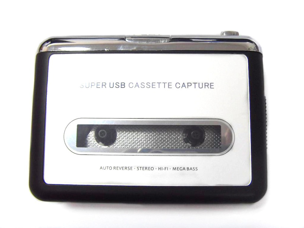 REDAMIGO Cassette Player Walkman Cassette to MP3 Converter Capture Audio Music Player Convert music on tape to PC Laptop Mac OS