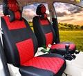2 front seat Universal car seat cover for Skoda Octavia RS Fabia Superb Rapid Yeti Spaceback GreenLine Joyste Jeti accessories