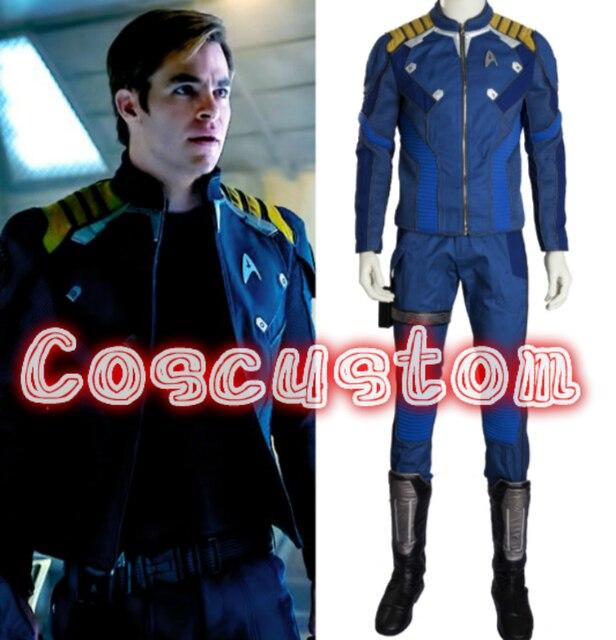 Coscustom Star Trek Beyond Captain Kirk Costume Star Trek Uniform