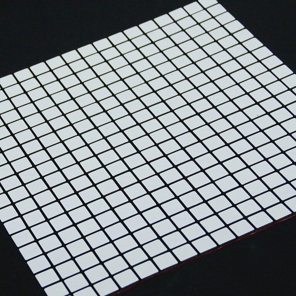 yazi metal d etiqueta de la pared de mosaico compuesto de aluminio panel de fondo de