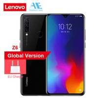 Global ROM Lenovo Z6 Lite 6.3 Inch 19.5:9 Water Drop 4GB 64GB Snapdragon 710 Octa Core Triple Back Cams 4050mAh Smartphone Lenovo Phones