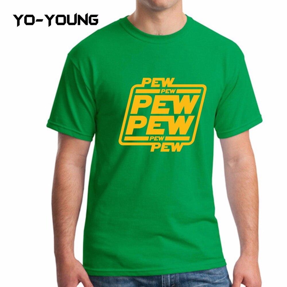 7c1f192aa ... Star Wars Men T-Shirt – Pew ...