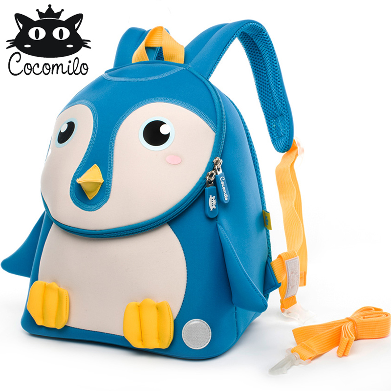 Cocomilo 3D Animal Backpacks Anti lost Children School Bags Kindergarten  Backpack Kid Small Bag For Boys Girls mochila escolar-in School Bags from  Luggage ...