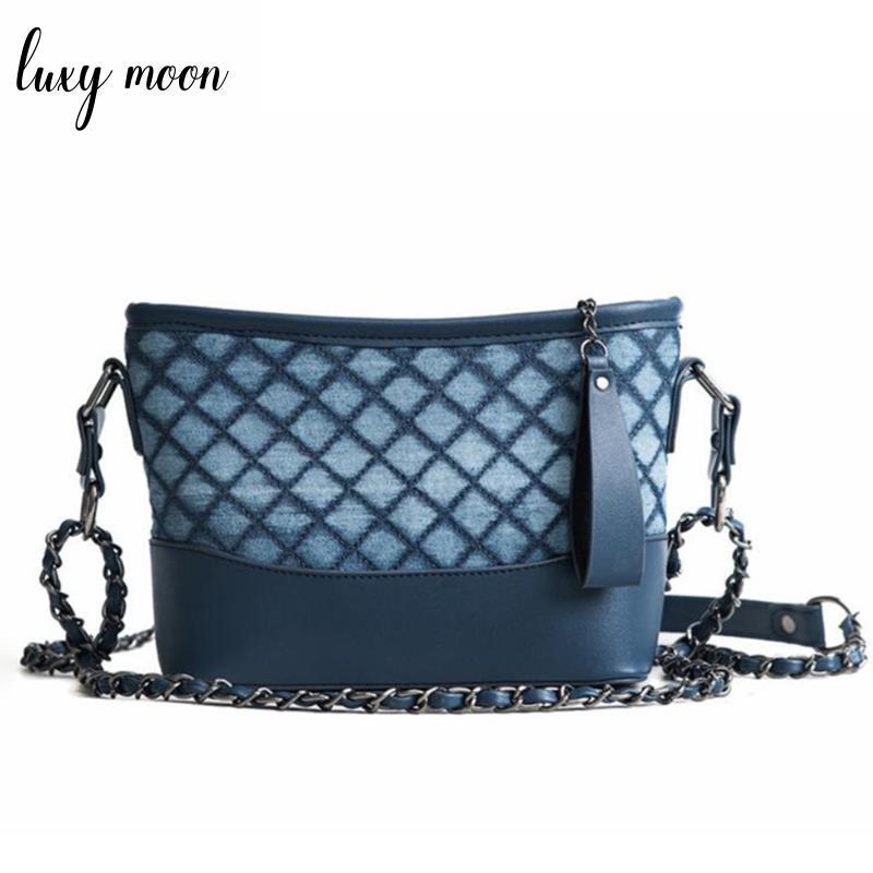 2018 Denim Blue Canvas Handbag Jeans Tote crossbody flap Ladies Leisure Tote Bags for Women Messenger Shoulder Bags Sac A Main taomaomao women leisure canvas shoulder messenger bags handbag