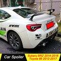 Для Subaru BRZ Toyota 86 GT86 2012 2013 2014 2015 2016 2017 спойлер из углеволокна