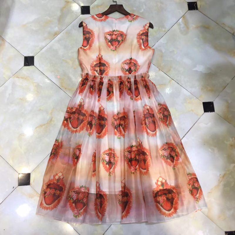 Luxe D01244 Femmes Printemps De Robe Marque Qualité Mode Nouvelles 2019 Design Haute Style Européenne Partie Yn8xHfw