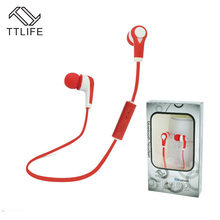 TTLIFE Bluetooth Wireless In-Ear Stereo Headsets Sports Earphone Headphones With Mic Music Headsets For Xiaomi Samsung Phone