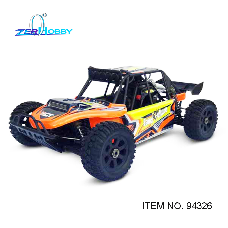 HSP SAND ULTURE 94326 1/5 scale gas powered desert truck 2.4g remote controller, 26cc engine, 2*20kgs and 9kgs servo