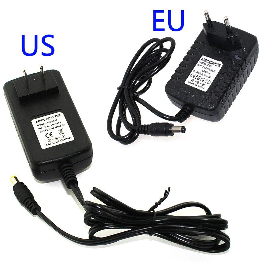 5v 12v 1a 2a 3a Adapter Power Supply Eu Plug Us Adapt To