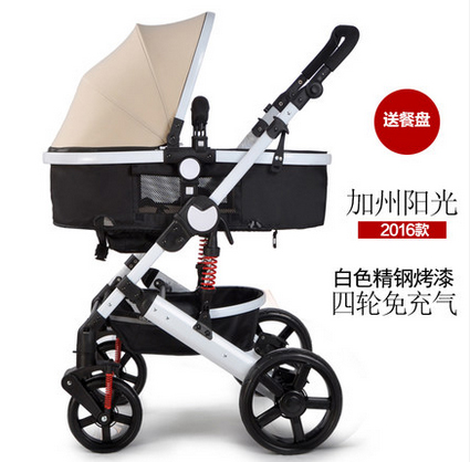 baby stroller bb car shock absorbers baby light folding child push baby car