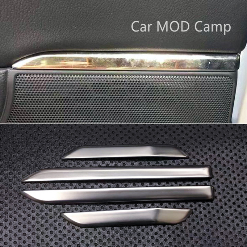 For Honda CRV CR-V 2017 2018 Stainless Steel Interior Door Speaker Cover Decorative Trim 4pcs Car Styling accessories!