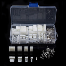 150PCS JST-XH 2.54mm 2/3/4/5Pin Wire Connectors Pin Housing Terminals Dupont Wire Cable Header Male/Female Adapter Plug Kit 1pcs ap045 yc6 2 3 4 5pin 6mm male