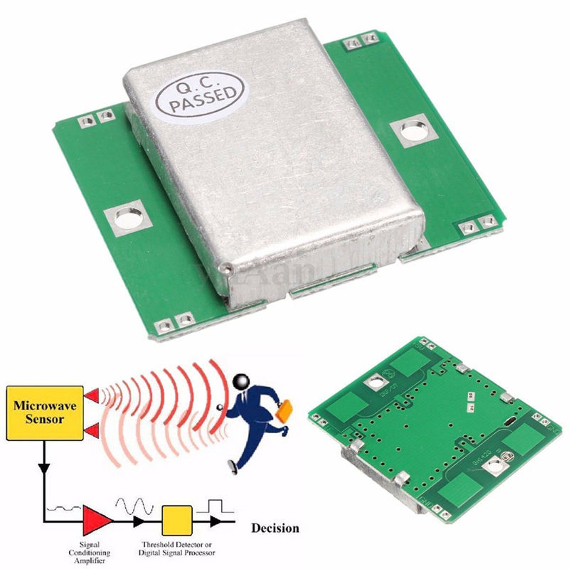 2pcs Hb100 Microwave Probe Sensor Module 10 525ghz Wireless Doppler Radar Motion Detector Free Shiping In Replacement Parts Accessories From Consumer