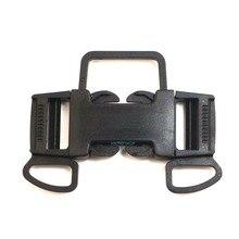 5pcs Release Buckle Paracord Sliders Fasteners Webbing Bracelet Backpack Plastic K5