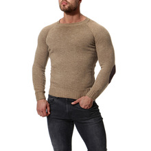 MarKyi 2018 autumn winter wool sweater men good quality long sleeve mens pullover sweaters slim fit