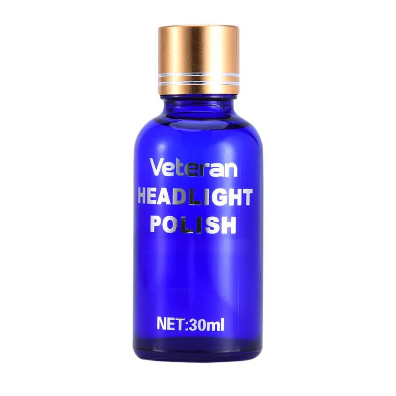 VODOOL <font><b>Car</b></font> Headlight Restoration Liquid Polish Kit 30ML Auto <font><b>Car</b></font> Motorcycle Head <font><b>Light</b></font> Lamp Lenses Repair Polishing <font><b>Cleaner</b></font> Set image
