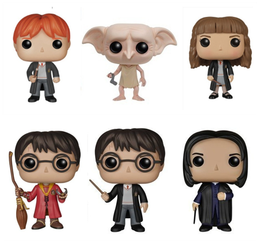 Harry Characters 10cm Vinyl Doll Action Figure Collection Model Toys Model Toy gifts