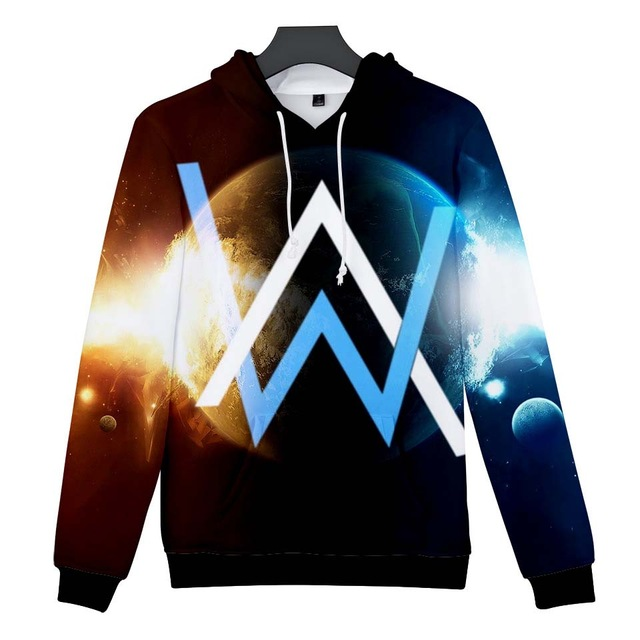 New Alan Olav Walker 3D hoodie Sweatshirts Men/Women Autumn/Winter Hoodies Fashion 3D Alan Olav Walker Mens Hooded Streetwear