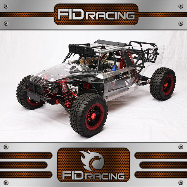 FID Racing Dragon Hammer V2 With KM36cc Engine & 2pcs 70kg Servos &Performance Pipe (Without Radio & Battery)