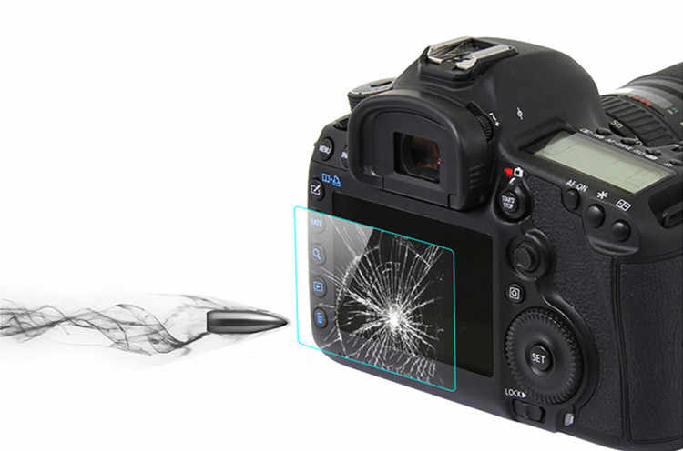 2Pcs Tempered Glass Screen Protector for Nikon D7500 D7200 D7100 D5600  D5500 D5300 D3400 D3500 D850 D810 D800 D750 D610 D500 D5