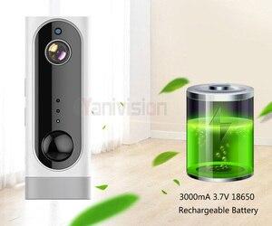 Image 5 - Baterii WiFi kamera akumulator zasilany z baterii 720 P 1080 P Full HD kryty zabezpieczenia sieci bezprzewodowej kamera IP 130 szeroki kąt z systemem IOS aplikacja ICsee