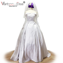 VARBOO_ELSA 2018 Long Sleeve A-Line Wedding Dress