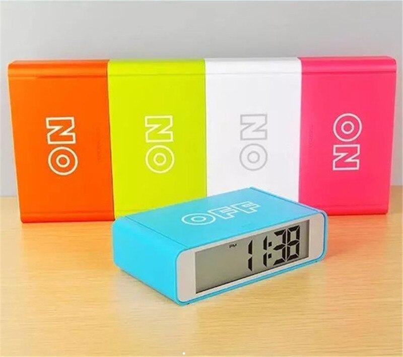 High quality! alarm clocks auto backlight with snooze function desktop bedroom timer Lcd digital clock 9916b-Clock