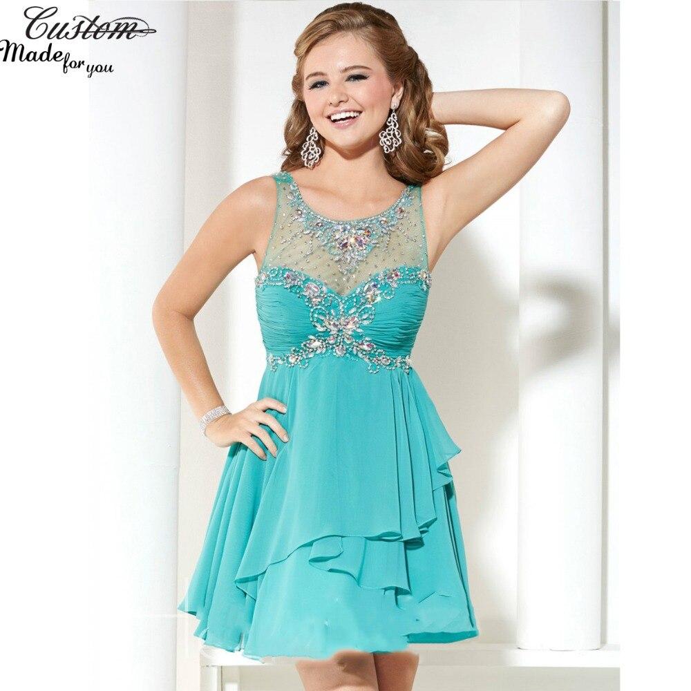 Popular Turquoise Short Dresses-Buy Cheap Turquoise Short Dresses ...