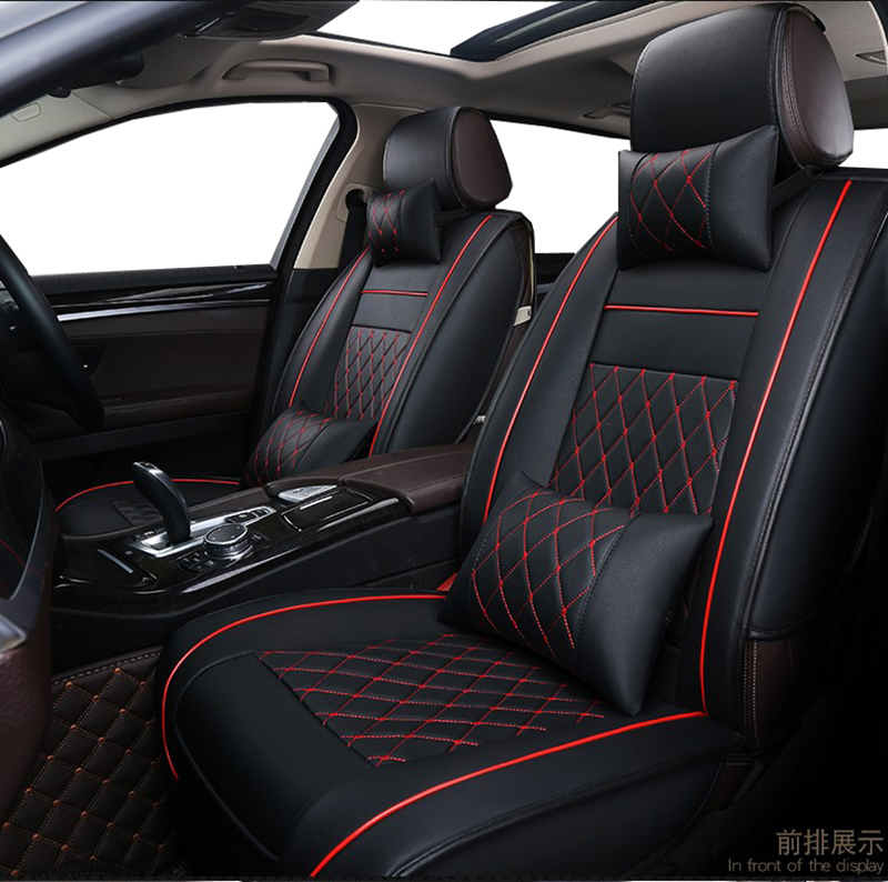 Universal PU Leather car seat covers For Toyota Corolla Camry Rav4 Auris Prius Yalis Avensis SUV