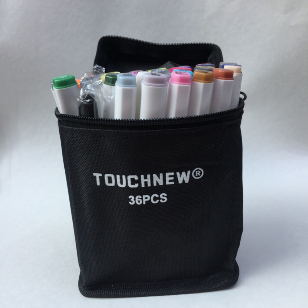 Free shipping Alcoholic oil six generation professional design art fine markers pen school hand-painted 30 36 40 color manga