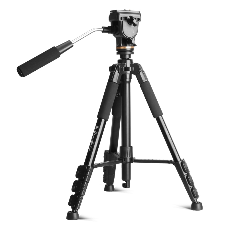 QZSD Q111S good quanlity tripod for camera with gear groove design more stable and non ship