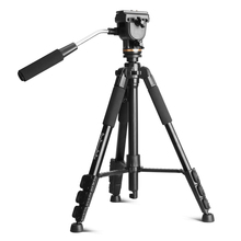 QZSD-Q111S good quanlity tripod for camera with gear groove design more stable and non-ship and horseshoe foot