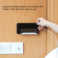 Wall Mounted Transparent Phone Holder