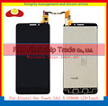 "5.0 ""para alcatel one touch idol x ot6040 6040 6040d 6040e 6040a lcd screen display toque digitador assembléia completa sensor"