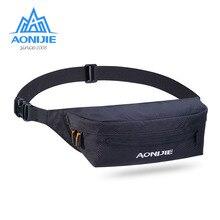 AONIJIE unisex waist pack men waterproof Running pack women belt bum bag waist bag male phone wallet Pouch Bags RunningBag