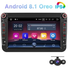 Pumpkin Android 8.1 Car Multimedia Player2 din 8IPS Radio GPS Audio Stereo No DVD Player For VW/Volkswagen/POLO/PASSAT/Golf